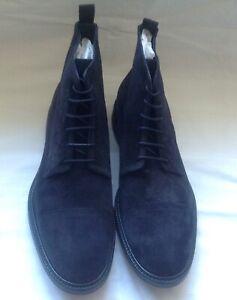 Paul Smith Men's Shoe Jarman Dark Navy Boots.