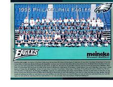 1996 PHILADELPHIA EAGLES TEAM 8X10  PHOTO  FOOTBALL NFL USA RYPIEN DETMER