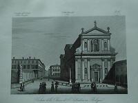 1845 Zuccagni-Orlandini Veduta della Chiesa di S. Salvadore in Bologna