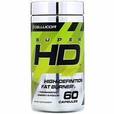 Super HD, High-Definition Fat Burner, 60 Capsules