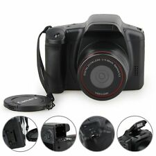 "D200 2.8"" TFT LCD 720P HD 12MP Digital SLR DV Camcorder Camera 4x Zoom Black New"
