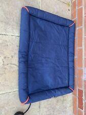 3 PEAK Navy Dog Summer Bed (Medium)