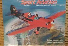 Sport Aviation Magazine August 2000 Back to basics Warner Sportster EAA Sporting