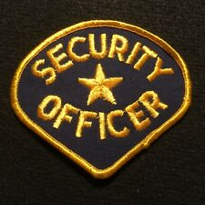 Security Officer Patch / Police Private Guard Service Protective