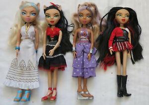 VHTF 4 x MYSTIKATS Dolls including 3 x Genie / Gypsy Series