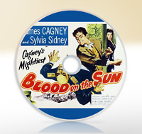 Blood On The Sun (1945) DVD Classic Drama Thriller Movie / Film James Cagney