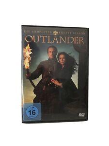Outlander Staffel 5 - Komplett 4 DVDs - mit deutscher Sprache - sehr Guter