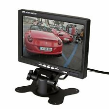 ZettaGuard 7-inch High Resolution 800 x 480 TFT LCD Car Rear View Camera Monitor