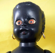 Vintage 1960s Black Doll 11 inch originally talking but voicebox not working now
