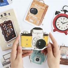 Irregular Shape Postcard Old Home Appliance PICS Greeting Post Cards