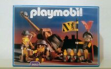 PLAYMOBIL 3653 - Knights with Catapult/ Soldats avec catapulte NEUF-NEW-NEU