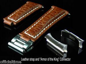 OT 20/16mm Buffalo Band / Strap & AK End Link fit Rolex Explorer II #16570