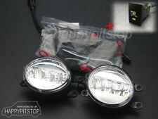 TOYOTA 2010-2013 PRIUS GEN III LED DRL daytime running light fog lamp lights