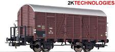 "Liliput L235099 ""BARGAIN"" Covered Goods Wagon OBB Epoch III H0 Gauge - T48 Post"