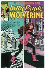 KITTY PRYDE AND WOLVERINE #1 L.S.   VF+ CONDITION COMBINED SHIPPING L@@K !!!!!!!