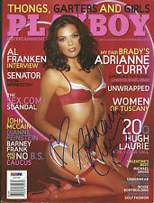 Adrianne Curry Signed February 2006 Playboy Magazine PSA/DNA COA Autograph Model