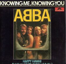 CD CARTONNE CARDSLEEVE 2T ABBA KNOWING ME, KNOWING YOU ET HAPPY HAWAII TBE