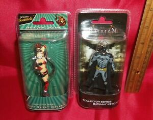 Set of 2 DC Keychains - Batman & Harley Quinn