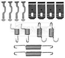 Brake Shoe Fitting Kit fits HONDA ACCORD CM2 2.4 Rear 03 to 08 K24A3 B&B Quality