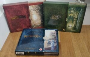 The Lord of the Rings Trilogy - Special Extended Edition Box Set DVD Complete