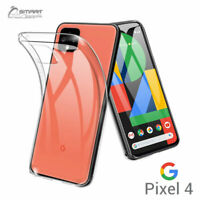 Clear Gel TPU Skin Jelly Soft Case Cover For Google Pixel 5  Pixel 4 XL Pixel 4a