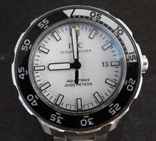 """IWC Schaffhausen AQUATIMER Stainless Steel Watch 44mm case 7.5"""" wrist"""