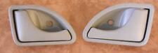 2X Poignee portiere interieur grise gauche droite Twingo 1 8200247802 8200247803
