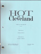 "HOT IN CLEVELAND show script ""Pilot"" Dead Is The New 90"