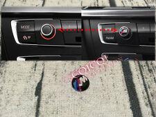 M logo radio volume controller sticker emblem badge for BMW F30 F31 3-series ◎