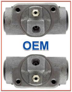 2 Brake Wheel Cylinders OEM ACDELCO Rear BUICK Chevy GMC Oldsmobile Pontiac