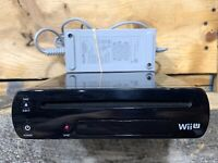 Nintendo Wii U 32GB CONSOLE & POWER SUPPLY ONLY Replacement System WUP101 Tested