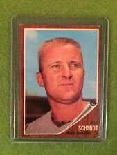 BOB SCHMIDT 1962 BASEBALL CARD Washington Senators Catcher 1962 Topps #262 MLB C