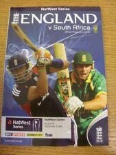 22/08/2008 Cricket Programme: England v South Africa  . Bobfrankandelvis [Footy
