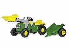 Rolly Kid John Deere Tractor & Frontloader & Trailer