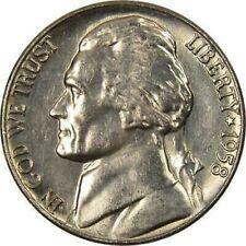 1958 Jefferson Nickel Bu Us Coin