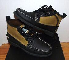 RARE Men's Sebago X Filson Knight HandSewn Waxed Cloth Chukka ankle Boots Size 7