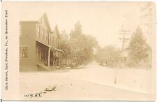 View on Main Street in East Freedom PA on Horseshoe Trail RP Postcard