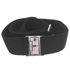 Men's Invisible Belt Men Hidden Belt Men Elastic Belt Flat Buckle Belt