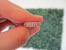 ".50 CTW Diamond Half Eternity Ring 18k Rose Gold HE255 sep ""V"""