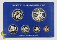 1976 British Virgin Islands Proof Sets, All Original 6 coins