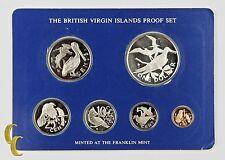 1976 British Virgin Islands Proof Sets, All Original 6 coins