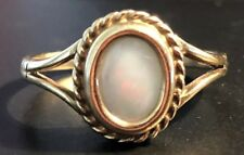 Vintage 9ct Gold Fire Opal Ring ,Size O,-2.33g #GT