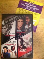 Lethal Weapon/Lethal Weapon 2/Lethal Weapon 3/Lethal Weapon 4(DVD)Rare Authentic