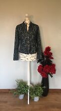 FINAL REDUCTION.JACQUARD EMBOSSED JACKET BY ARTHURIO LINO  RRP £125. SIZE M