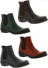 FLY London Pull On 100% Leather Upper Boots for Women