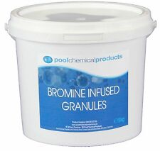 5kg Bromine Infused Granules Swimming pool Spa Hot Tub EB