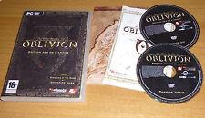 Jeu de role RPG PC - The elder scrolls 4 : OBLIVION + les extensions