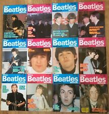 1989 Complete Year The Beatles Book Monthly All 12 Months Set Magazine 153-164