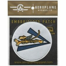 Flying Tigers V For Victory Embroidered Patch (Iron On Application)