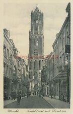 AK, Foto, Utrecht, Zadelstraat met Domtoren, 1941; 5026-59